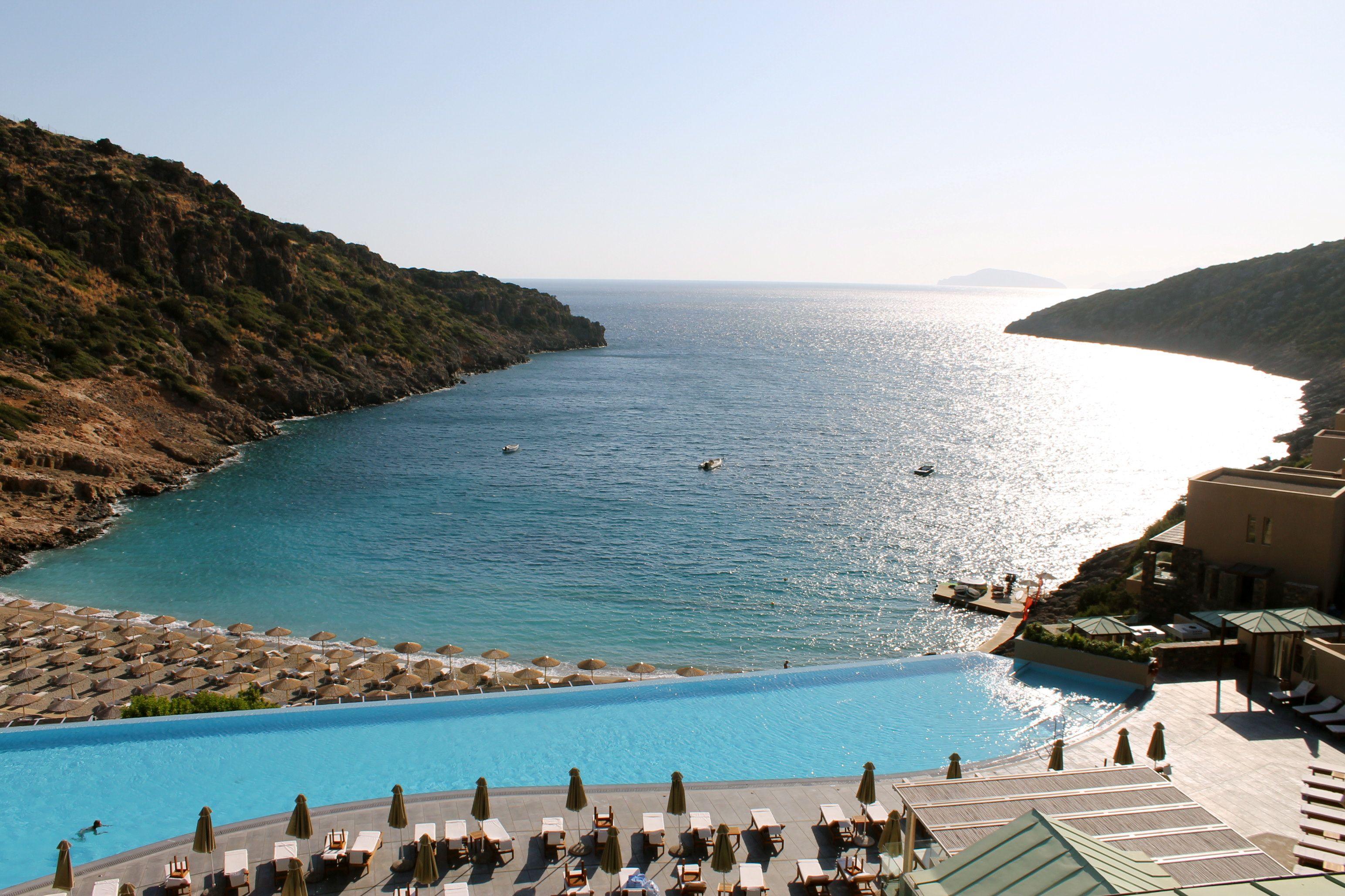 Crete And The Daios Cove Luxury Resort And Villas Wilddonna